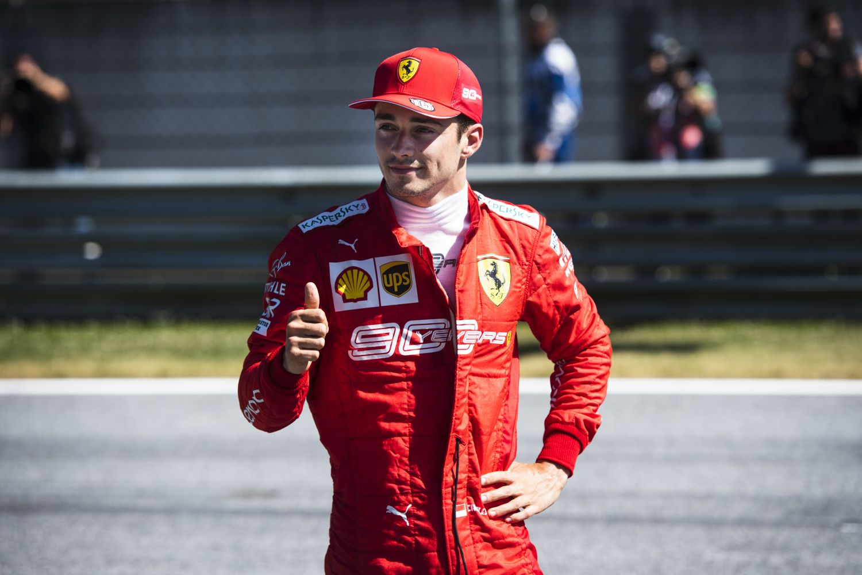© Ferrari - Leclerc signe la pole devant les tifosis !