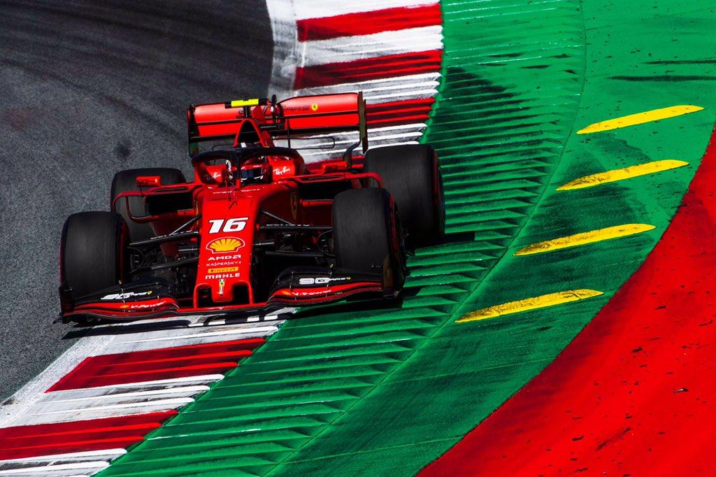 © Ferrari - Charles Leclerc confirme sa bonne forme