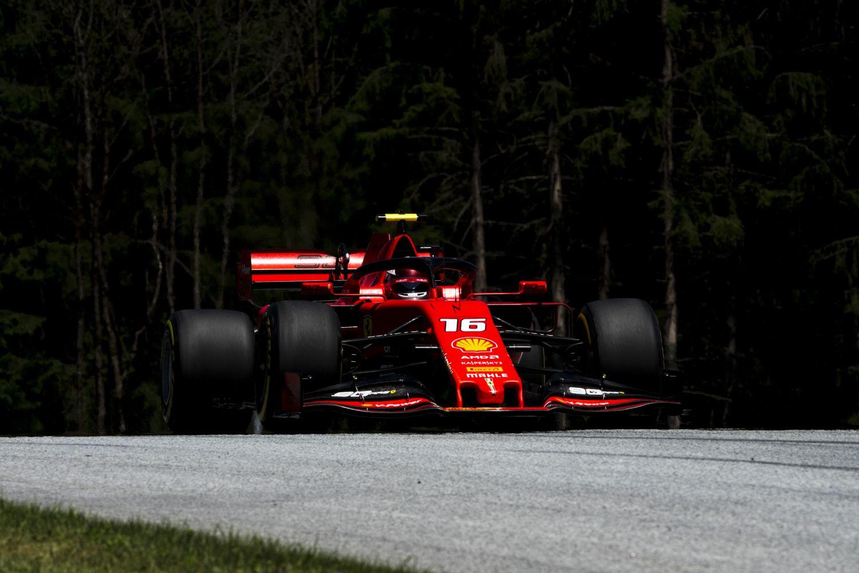 © Ferrari - Charles Leclerc aime l'Autriche et ça se voit
