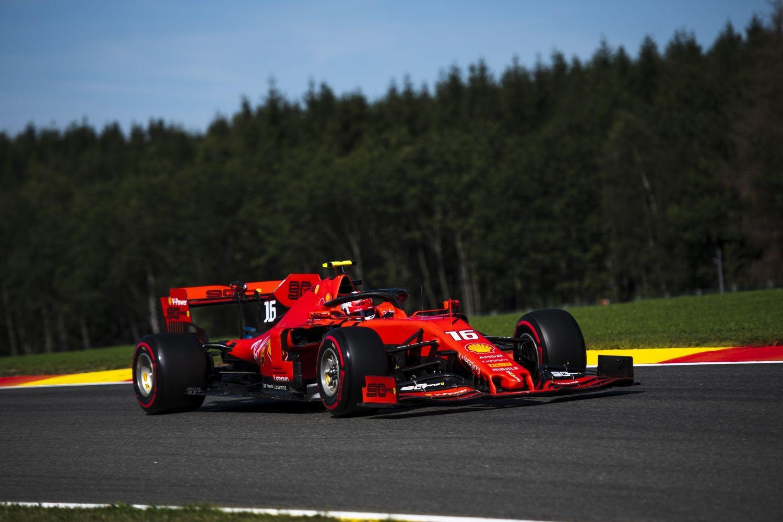 © Ferrari - Charles Leclerc a envoyé un message fort en Belgique