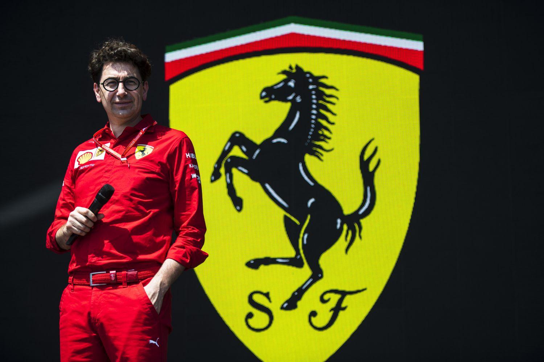 © Ferrari - Mattia Binotto a défendu la stratégie de son équipe après l'undercut de Vettel sur Leclerc