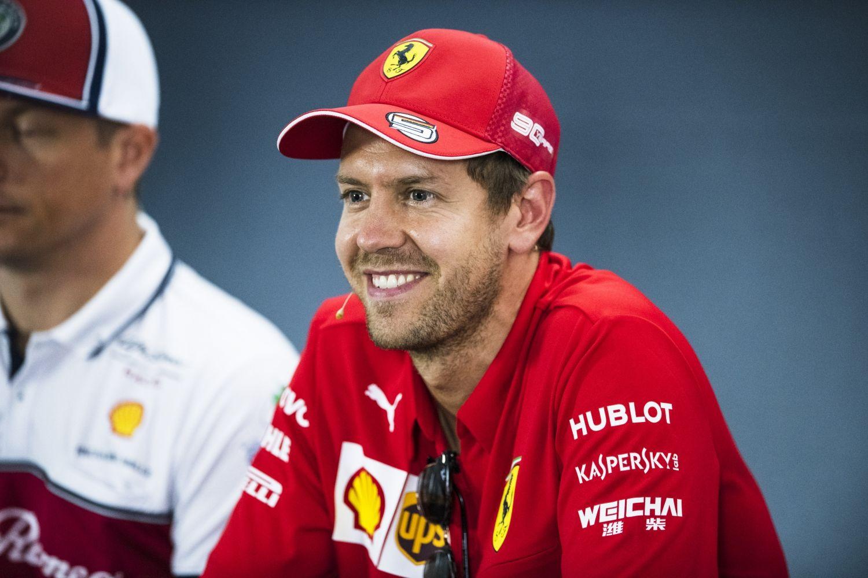 © Ferrari - Sebastian Vettel milite également pour une baisse des coûts