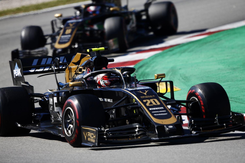 © Haas - Vers de gros changements de livrée pour Haas ?