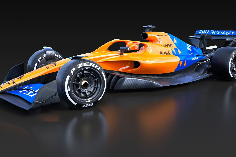 © McLaren- Démarrage du moteur de la MCL35