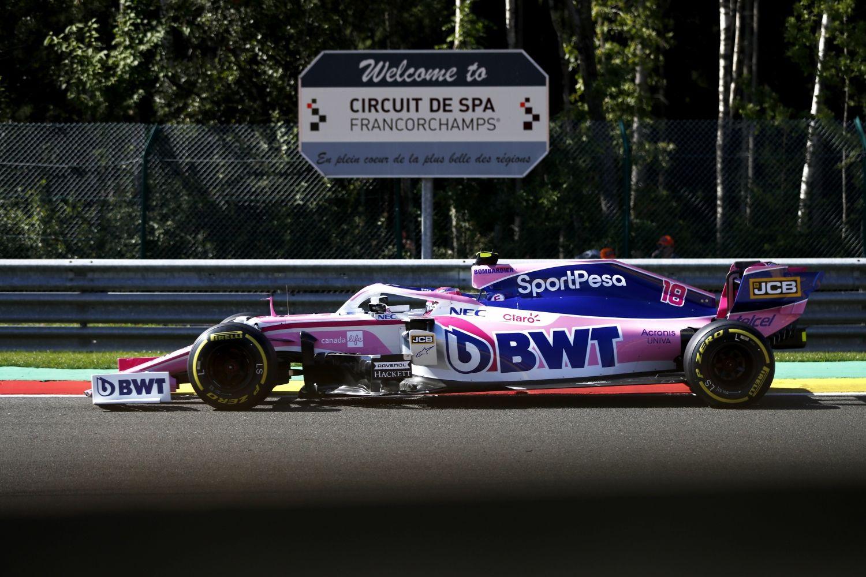 © Racing Point - Des voitures seules en piste à Spa cette année