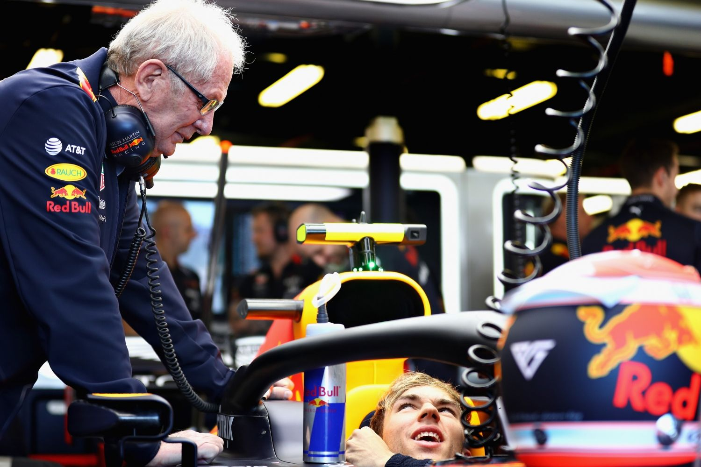© Red Bull Content Pool - Helmut Marko a Pierre Gasly dans le viseur