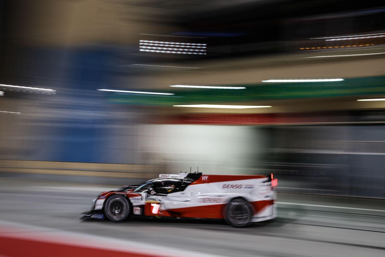 © Toyota - Toyota en tête dans la nuit