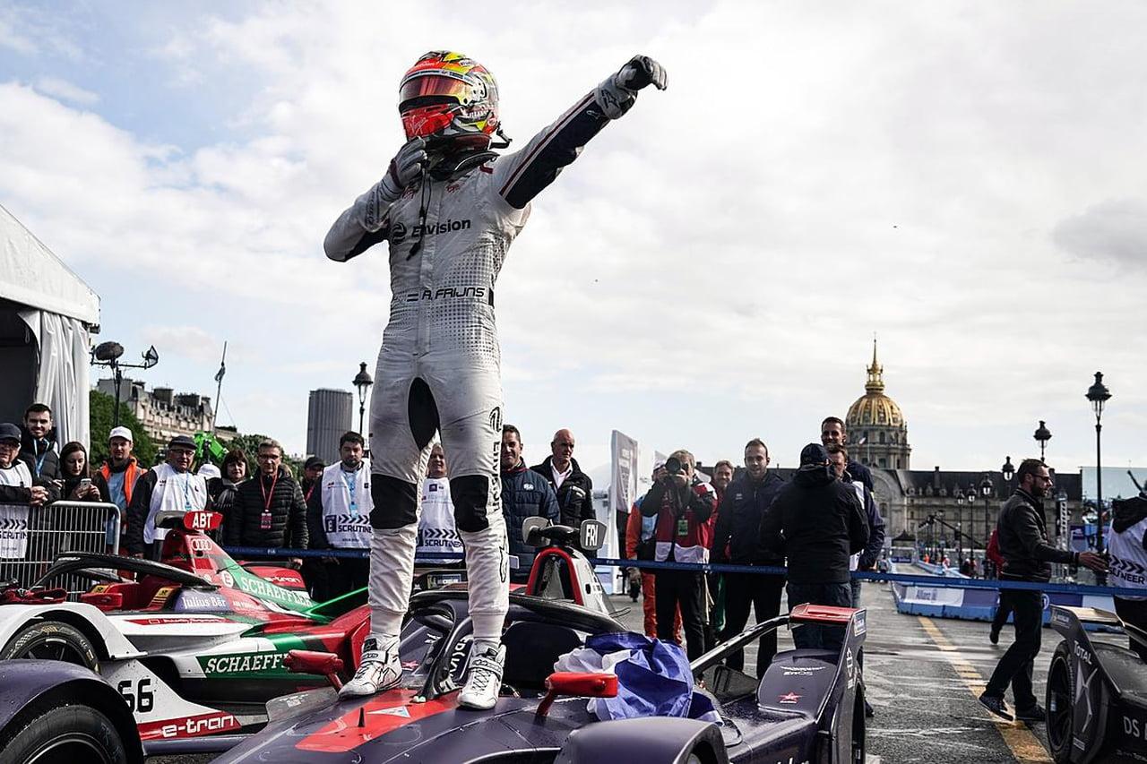 © © ABB Formula E - Robin Frijns, vainqueur à Paris et nouveau leader au général !
