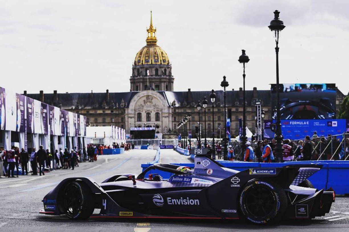 © © Abb Formula E - Robin Frijns, vainqueur d'un ePrix de Paris totalement fou !