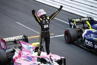 © DAMS - Anthoine Hubert victorieux à Monaco