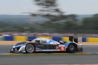 © Peugeot - la 908 numéro 9 victorieuse au 24H du Mans