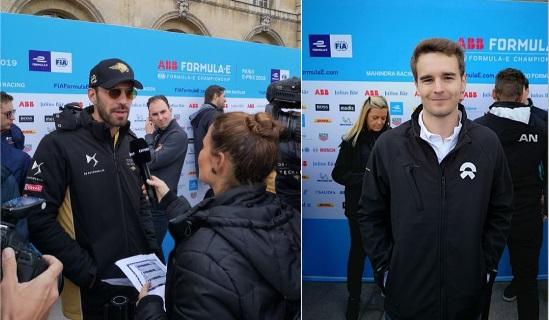 © Alexandre Lepère / Motors Inside - Jean-Eric Vergne et Tom Dillmann représenteront les chances françaises à Paris !