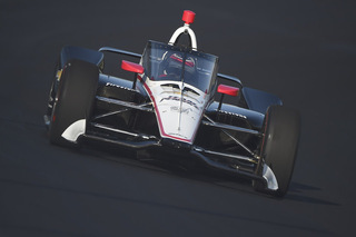© IndyCar - Will Power teste l'Aeroscreen de Red Bull
