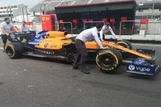 © McLaren - La MCL34 ornée du sponsor Vype