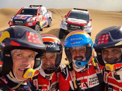 © Fernando Alonso - Rallye du Maroc avant le Dakar 2020