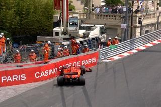 © F1 - Vettel part à la faute à Monaco