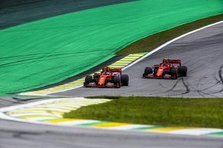 © Ferrari - Vettel et Leclerc voient rouge au Brésil