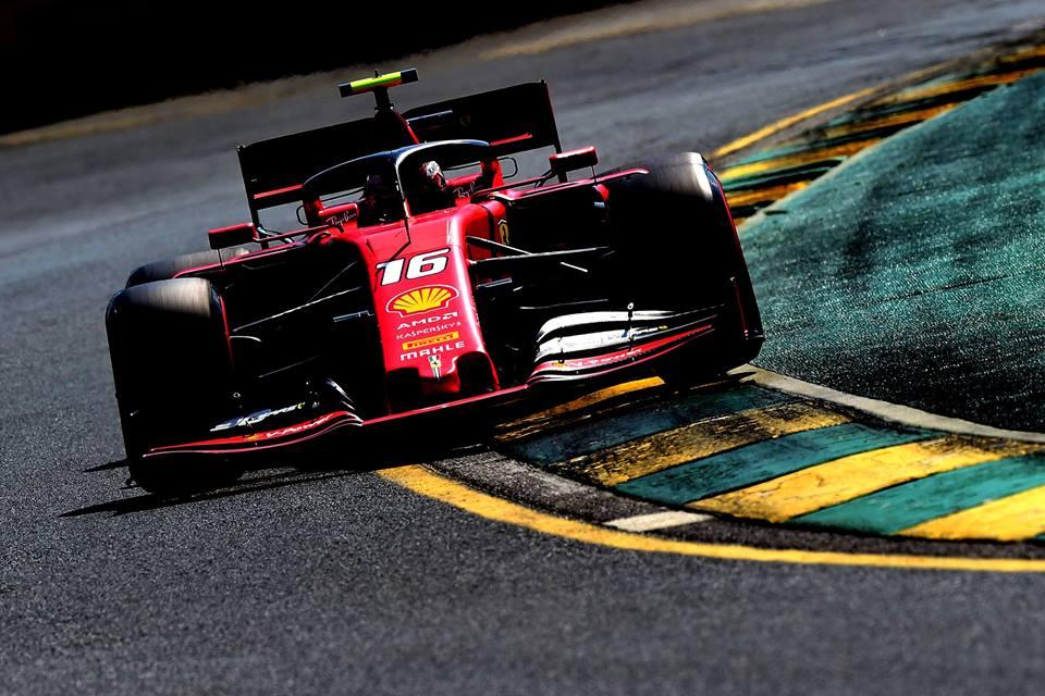 © Ferrari- Charles Leclerc n'a pas gagné de positions en course
