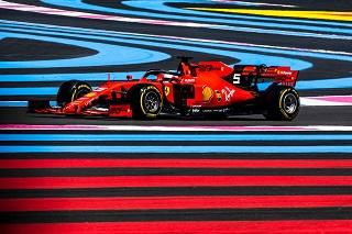 © Ferrari - Vettel, anonyme 5ème au Castellet