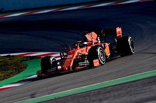 © Ferrari - Vettel domine la première journée
