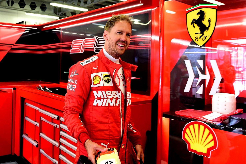 © Ferrari - Sebastian Vettel retrouve le sourire à Hockenheim