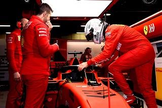 © Scuderia Ferrari - L'Allemand monte au créneau dès l'entame du week-end