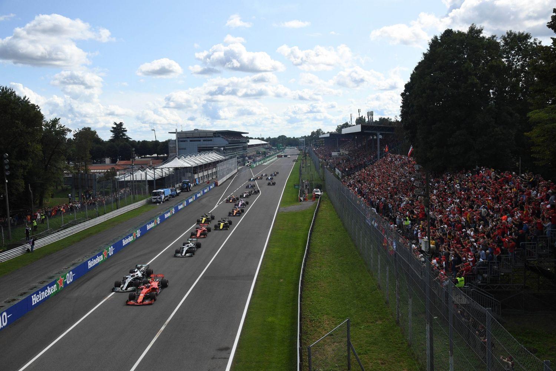 © Une course une nouvelle fois intéressante à Monza