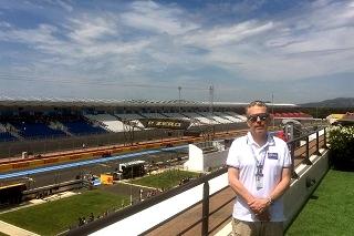 © GP de France - Philippe Vandel est un vrai connaisseur de F1