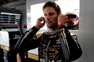 © Haas - Romain Grosjean, directeur du GPDA