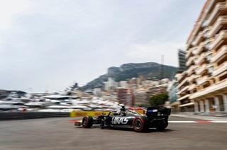 © Haas - Grosjean n'est pas chanceux en Q2