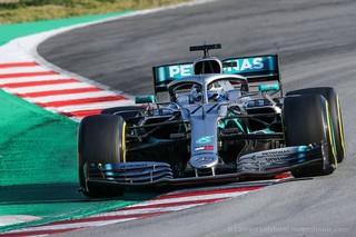 © - Mercedes - Le leader du championnat Valtteri Bottas décroche la pole et se porte en favori pour la course de demain !