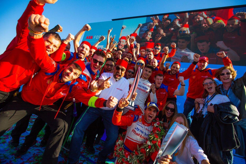 © Mahindra Racing - Vainqueur à Marrakech, Jérôme d'Ambrosio mène d'une courte tête le championnat des pilotes !