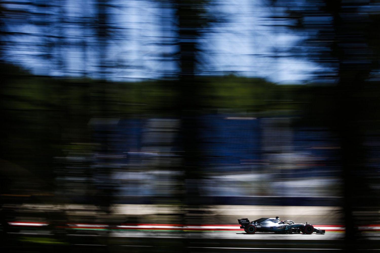 © Mercedes AMG Petronas - Le Britannique pointe à un dixième de Vettel