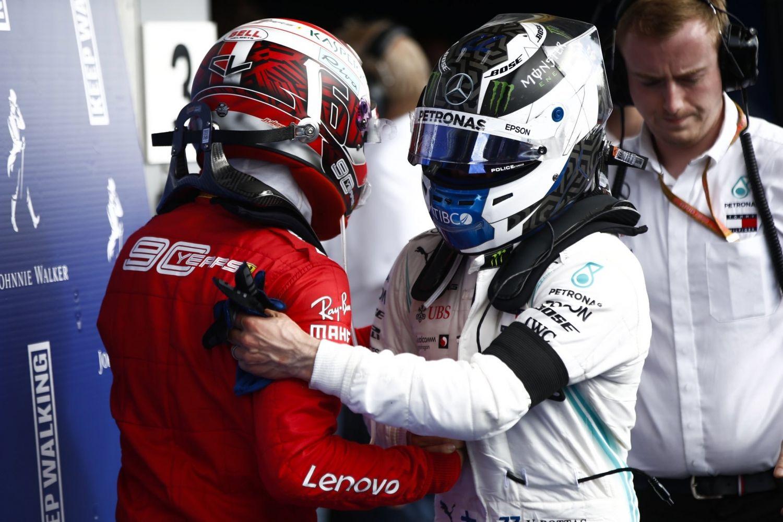 © Mercedes AMG Petronas - Une Mercedes moins rapide handicape Bottas et Hamilton à Spa