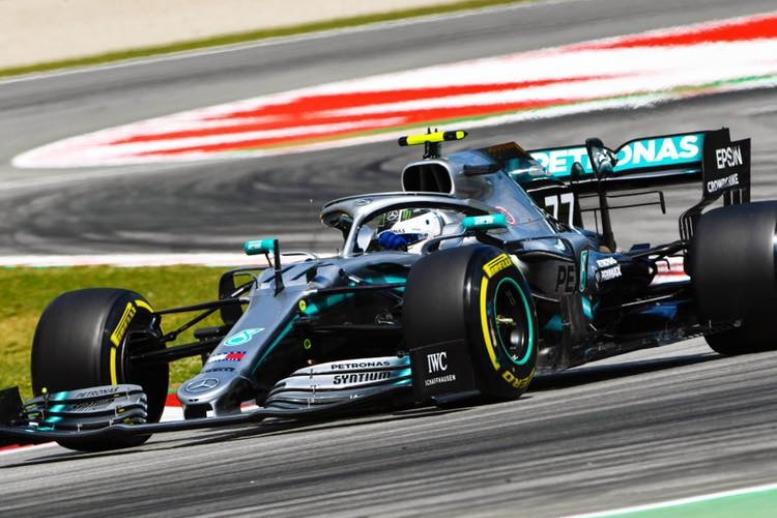 © Mercedes - Un vendredi parfait sur le plan de la performance pour Valtteri Bottas !
