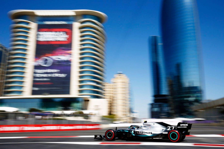 © Mercedes - Bottas n'était pas favori, il décroche pourtant la pole à Bakou !