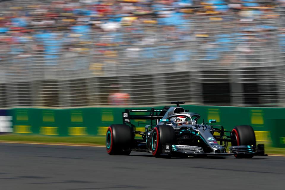 © Mercedes - 3/3 pour Hamilton, encore leader à l'issue des EL3.