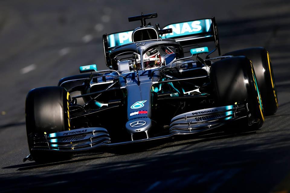 © Mercedes - À Melbourne, Lewis Hamilton partira depuis sa position fétiche, la première !