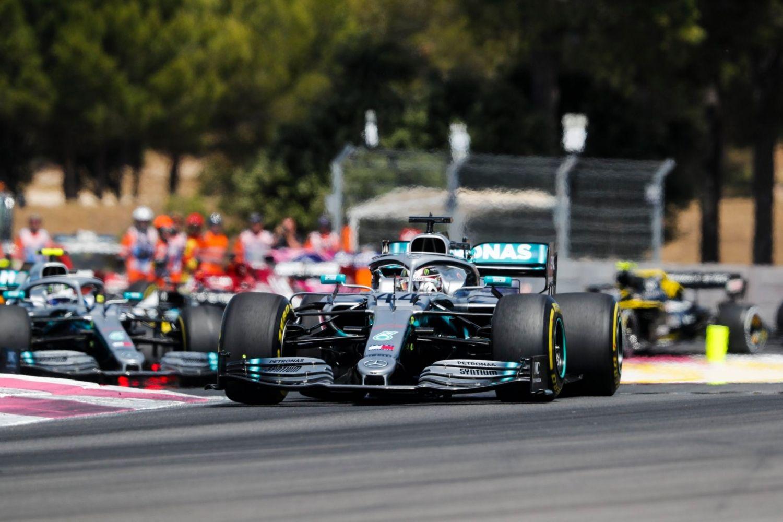 © Mercedes -Hamilton intouchable en course, une quatrième victoire en 2019 pour le Britannique !