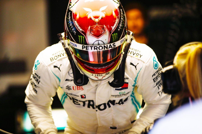 © Mercedes - Lewis Hamilton a naturellement dédié sa pole monégasque à Niki Lauda