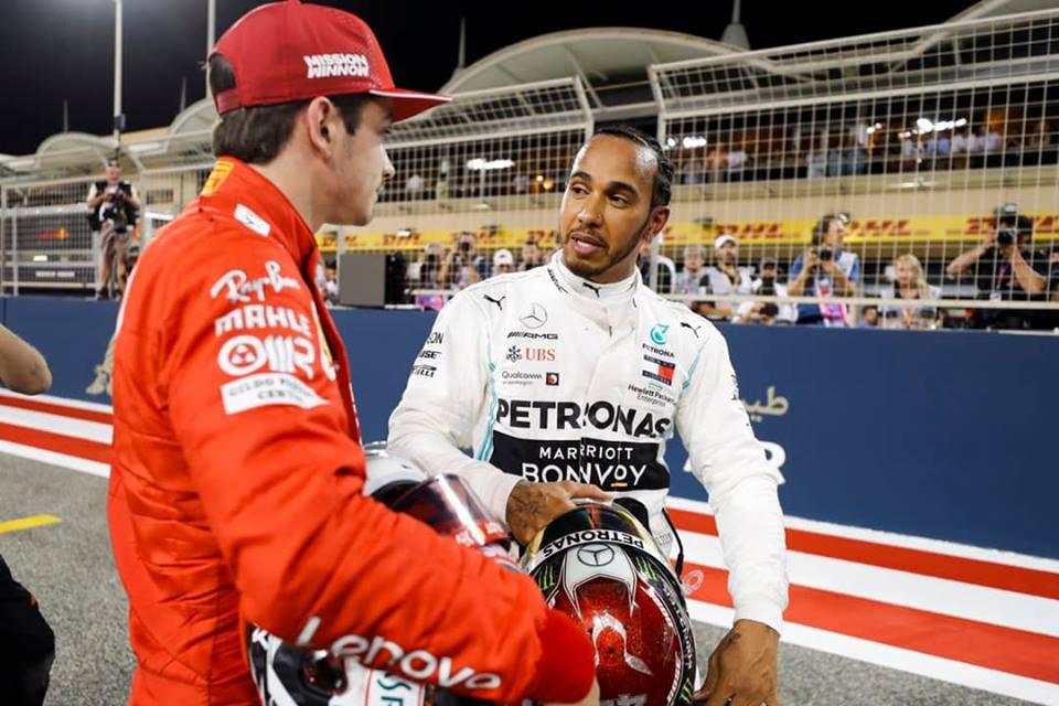 © Mercedes – Hamilton réconforte Leclerc après l'arrivée d'une course imprévisible !
