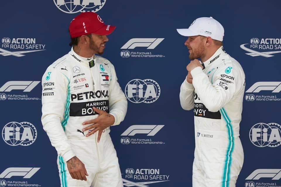 © - Mercedes - Malgré le doublé, un pilote Mercedes est forcément plus déçu que l'autre !