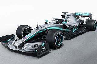 © Mercedes - La W10 est de sortie