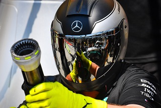 © Mercedes - La technologie F1 utilisée dans la lutte contre le coronavirus