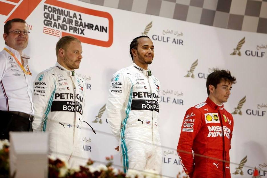 © Mercedes - Hamilton et Bottas ont brillé sur les cinq circuits de ce début de saison !