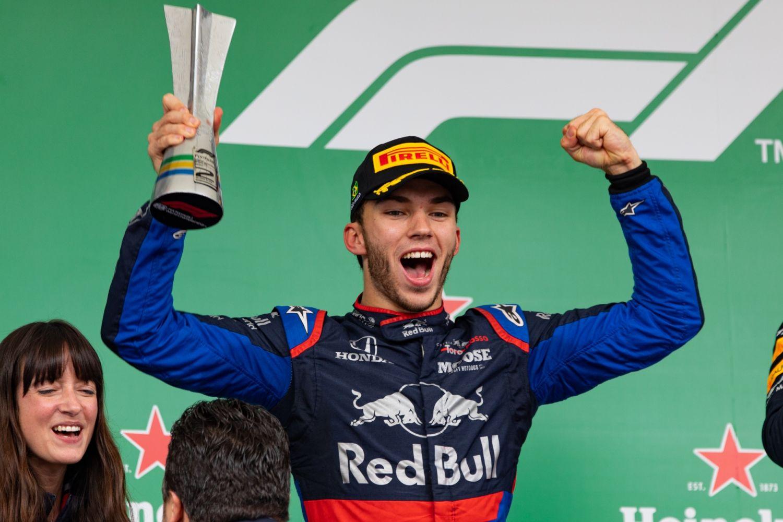 Guillaume PerezGasly finit en beauté sa saison avec un podium