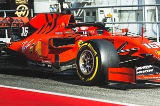 © Scuderia Ferrari - Charles Leclerc termine la journée du vendredi en tête !