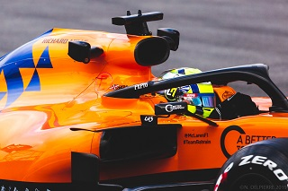 © Nicolas Delpierre - Lando Norris victime de son premier accrochage en Formule 1 !