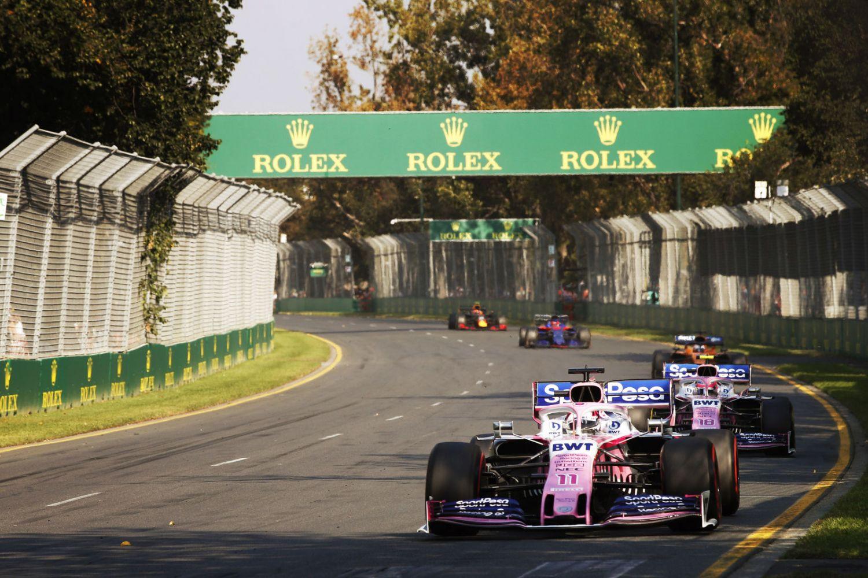 © Racing Point - Le circuit de l'Albert Park la dernière fois qu'il a accueilli un Grand Prix, en 2019