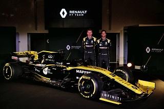 © Renault F1 - La livrée de la RS19